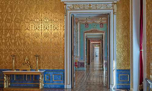 Picture: Royal Palace enfilade