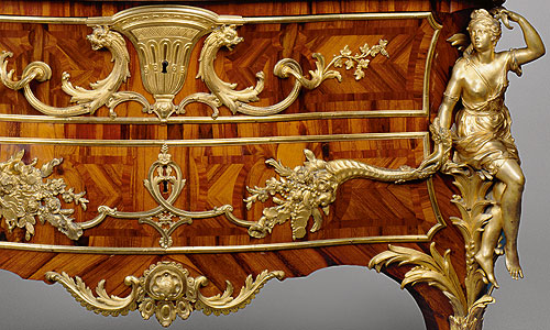 Picture: Commode with nymphs