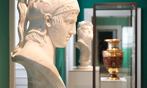 Picture: View into the porcelain collection