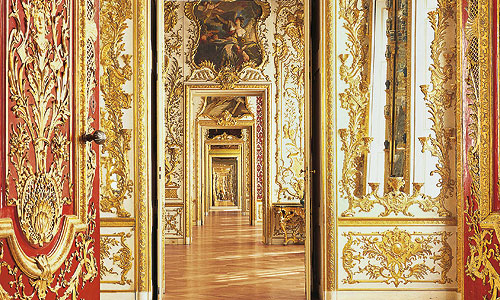 Picture: Enfilade of the Rich Rooms