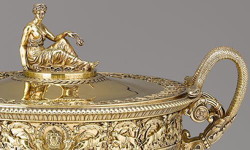 Picture: Tureen, detail
