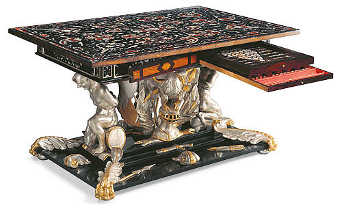 Picture: Ornate games table