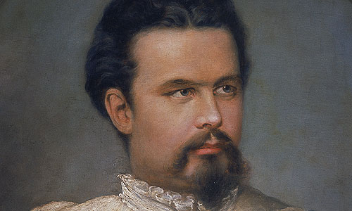 Picture: King Ludwig II, portrait