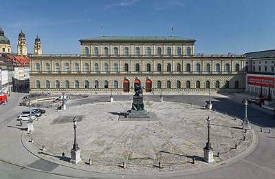 Picture: The Munich Residence - view of the Royal Palace